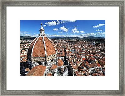 The Duomo Florence Framed Print by Jeff Lewis