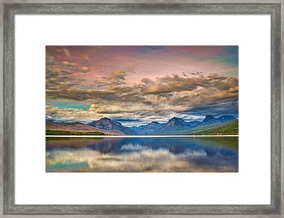 The Dusk Settles Framed Print by Greg Nyquist