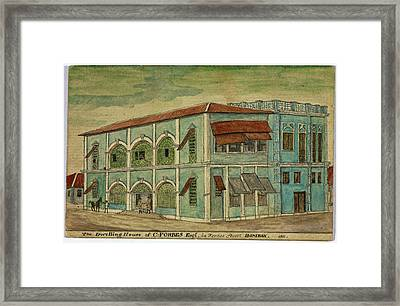 The Dwelling House Of C. Forbes Esquire Framed Print by British Library