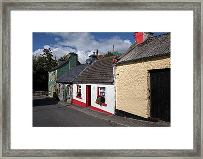 The Dying Man House From The Quiet Man Framed Print by Panoramic Images