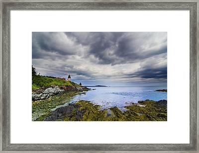 The Eastern Most Point In The U.s.a  Framed Print by Mircea Costina Photography