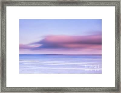 The Edge Of Night Framed Print by John Farnan