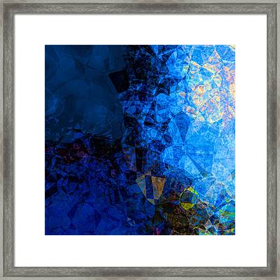The Edge Of Night Framed Print by Wendy J St Christopher
