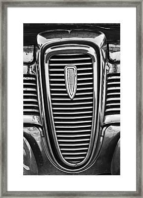 The Edsel Grill Framed Print by Paul Mashburn