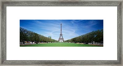 The Eiffel Tower Paris France Framed Print by Panoramic Images