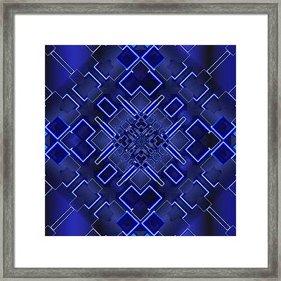 The Elements Of Light Framed Print by Mario Carini