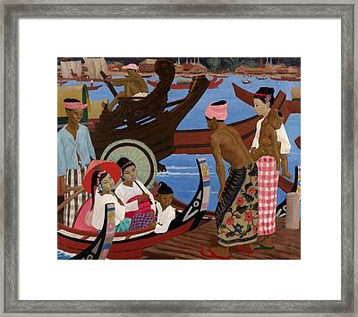 The Embarkation 1920s Framed Print by Ernest Procter