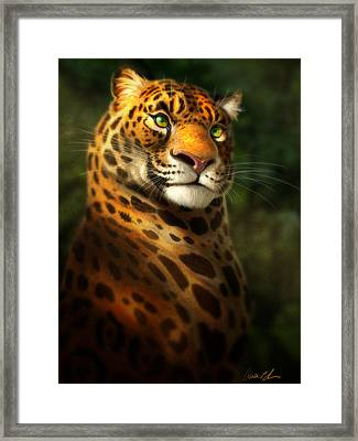 The Emerald Kingdom Framed Print by Aaron Blaise