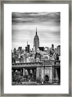 The Empire State Building Framed Print by John Farnan