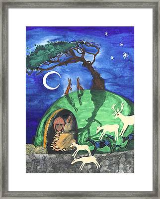 The Enchantment Framed Print by Cat Athena Louise