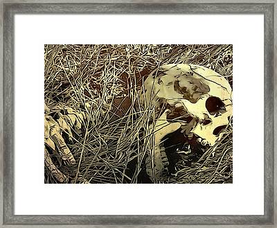 The End Framed Print by Dan Sproul