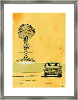 The End Framed Print by Giuseppe Cristiano