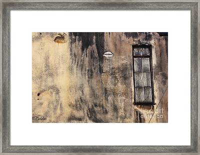 The End Of An Era Framed Print by Eena Bo