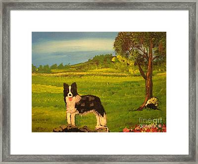 The English Countryside Framed Print by John Morris