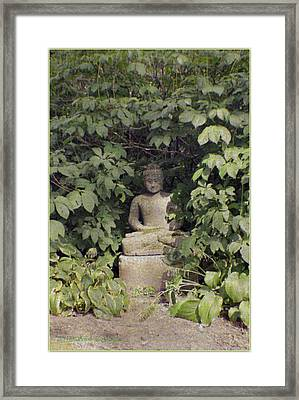 The Enlightened One Framed Print by Sonali Gangane