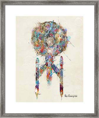 The Enterprise Framed Print by Bri B