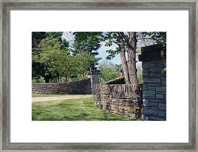The Entrance Framed Print by Roger Potts