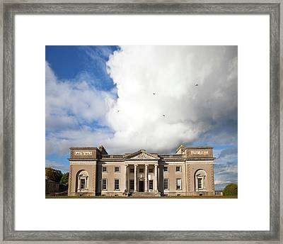 The Entrance To Emo Court Designed Framed Print by Panoramic Images