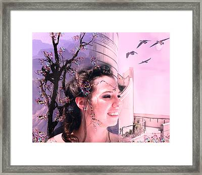 The Essence Of Eliza Framed Print by Camille Lopez