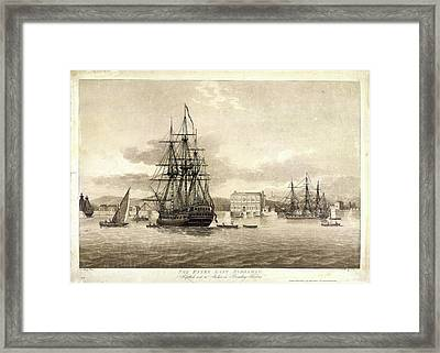 The Essex East Indiaman Framed Print by British Library