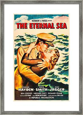 The Eternal Sea, Us Poster, From Left Framed Print by Everett