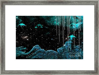 The Eternal Universe Framed Print by Sherri  Of Palm Springs