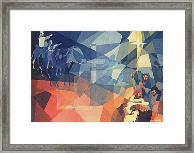The Event 1965 Framed Print by Glenn Bautista
