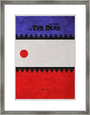 The Evil Dead Framed Print by Ayse Deniz