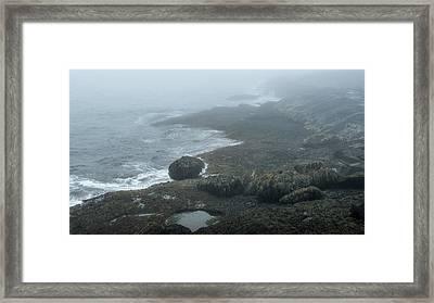 The Evolution Of Rocks Framed Print by Joseph Smith