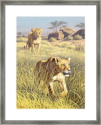 The Example   Framed Print by Paul Krapf