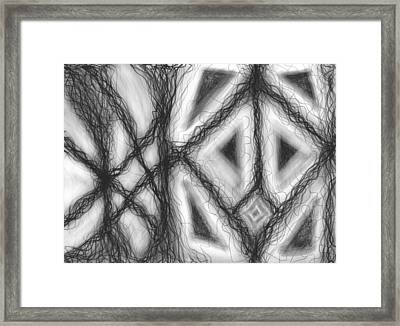 The Expansion Of Energy Is Everywhere Framed Print by Daina White