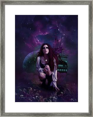 The Explorer Framed Print by Cassiopeia Art