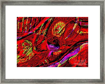 The Eye Has It Framed Print by Larry E  Lamb