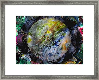 The Eye Of Silence Framed Print by Otto Rapp