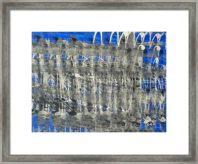 The Fabric Of Our Existence Framed Print by Jimi Bush