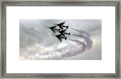 The Fabulous Thunderbirds 1972 Framed Print by Peter Chilelli