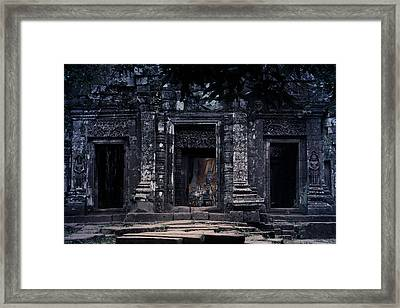 The Facade Of Sanctuary Framed Print by Nawarat Namphon