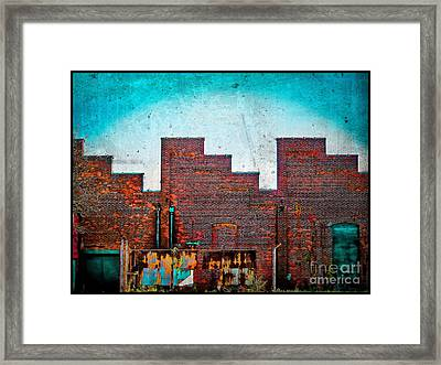 The Factory Framed Print by Colleen Kammerer