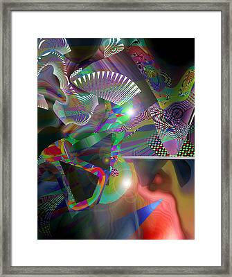 The Fall Framed Print by Rick Wolfryd