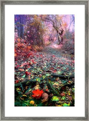 The Fallen Leaves Framed Print by Tara Turner