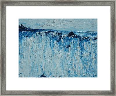 The Falls  Framed Print by Conor Murphy