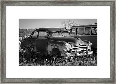 The Family Car Framed Print by Amber Kresge