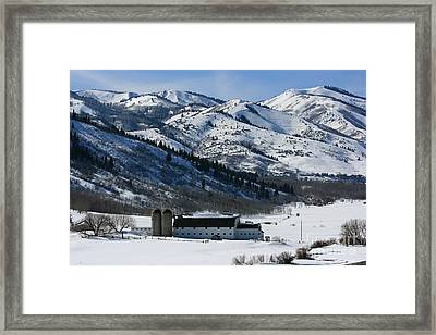 The Farm Framed Print by Marty Fancy