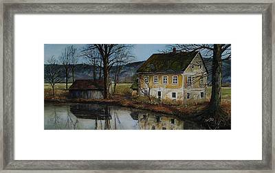 The Farm Framed Print by Suzanne Tynes