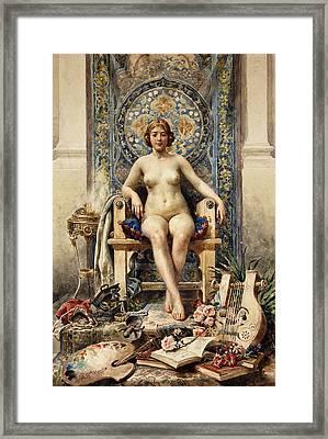 The Favorite Framed Print by Antonio Garcia Mencia