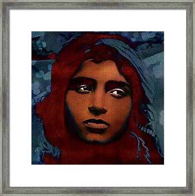 The Fear Framed Print by Fine Art  Photography