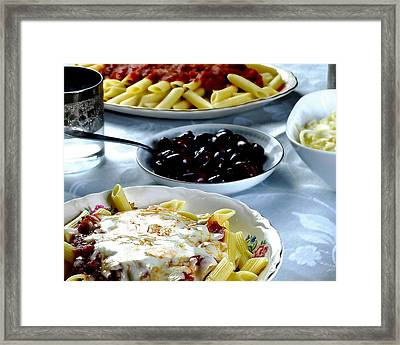 The Feast Framed Print by Camille Lopez