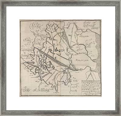 The Fens Framed Print by British Library