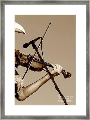 The Fiddler Framed Print by Robert Frederick