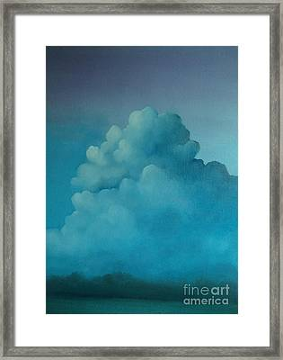 The Soy Bean Field Framed Print by Cynthia Vaught